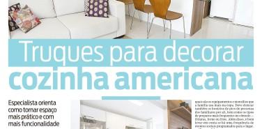 Jornal O Dia – matéria Truques para decorar cozinha americana