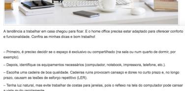 Coluna Portal Utilità: dicas para montar home office