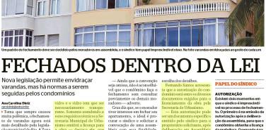 Jornal Extra – matéria Fechados dentro da lei