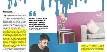 Jornal O Dia – matéria Uma pintura de decoração
