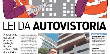 Jornal O Dia (Imóveis) – matéria Lei da Autovistoria