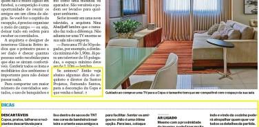 Jornal Extra – matéria Pronta para a torcida