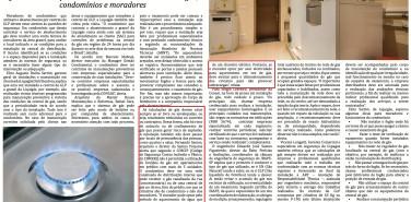 Revista Supra Condomínio – matéria De olho no gás!