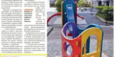 Jornal Extra – matéria Espaço da criançada