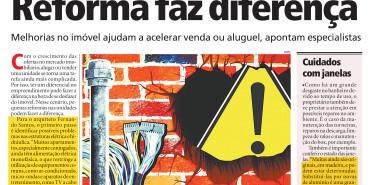 Jornal Meia Hora – Reforma faz diferença