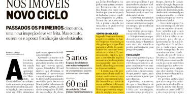 Jornal O Globo (Morar Bem) Autovistoria nos imóveis – novo ciclo