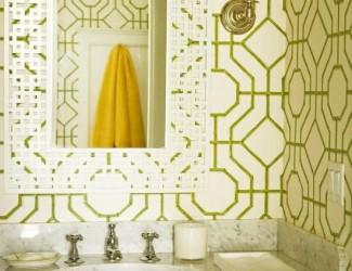 6 orientações sobre como utilizar papel de parede no banheiro