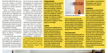 Jornal Extra (caderno Bela Casa) – Repaginada para 2020