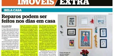 Jornal Extra (Imóveis) – Reparos podem ser feitos nos dias em casa